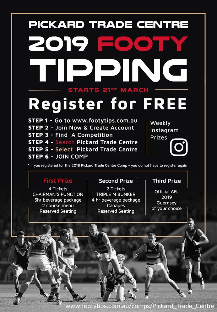 2019 footy tipping
